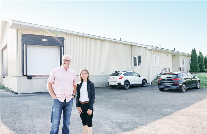 Dale Hume and Lesley Hillier of Thermtest